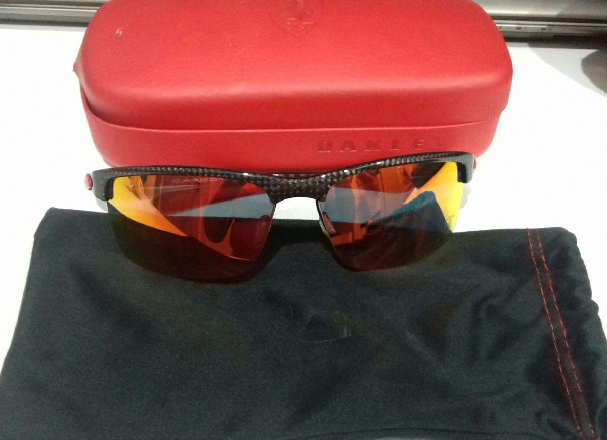 97f1002b03da4 Óculos Oakley Modelo Ferrari   Óculos Masculino Oakley Usado 19378940    enjoei