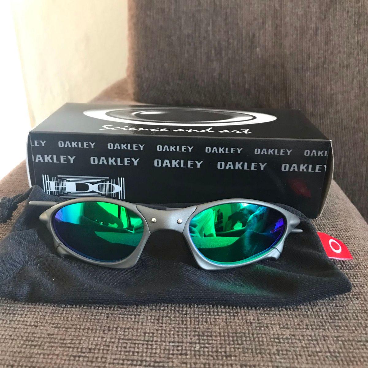 310c2dd3c3a98 Óculos Oakley Penny Lente Verde
