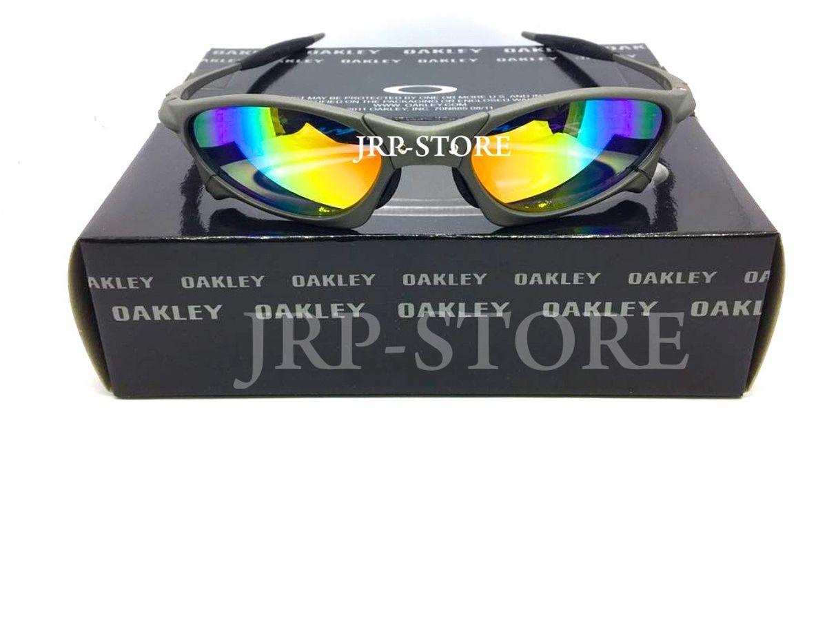 óculos oakley juliet penny xmetal lente arco íris + lente extra - óculos  oakley be32111603