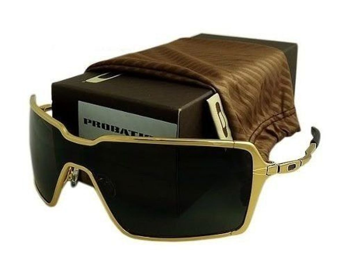 4cc63dcc4 Oculos Oakley Probation Dourado Novo Na Caixa | Óculos Masculino ...
