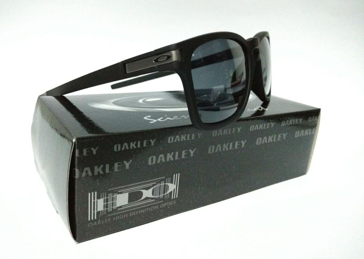 bae16684155ef Óculos Oakley Quadrado Preto Fosco Latch Squared   Óculos Masculino Oakley  Nunca Usado 26905099   enjoei