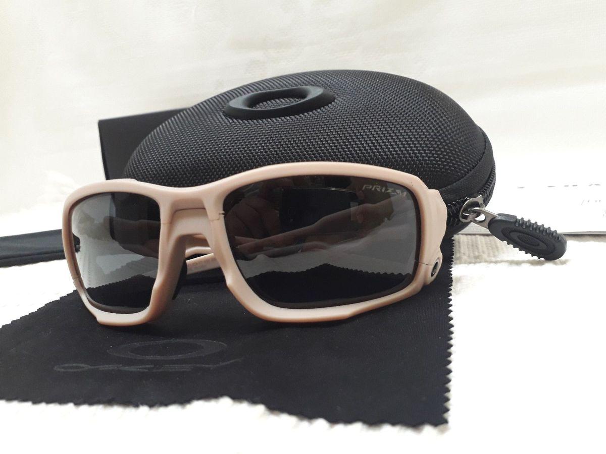 óculos oakley si ballistic shocktube bege/preto prizm - importado - óculos oakley