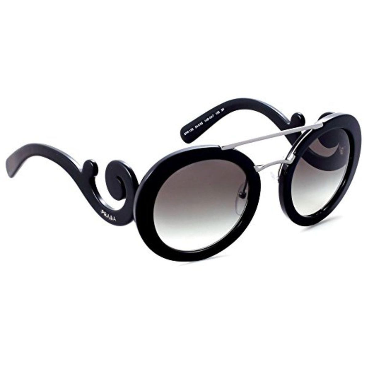 fb385e36b Óculos Prada Baroque Evolution Preto | Óculos Feminino Prada Nunca Usado  20089272 | enjoei