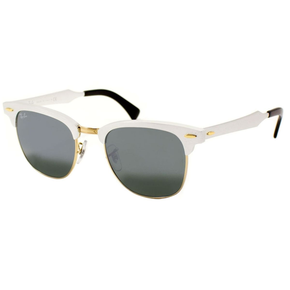 Óculos Ray-ban Clubmaster Aluminium   Óculos Feminino Ray Ban Nunca ... 307fe033ad