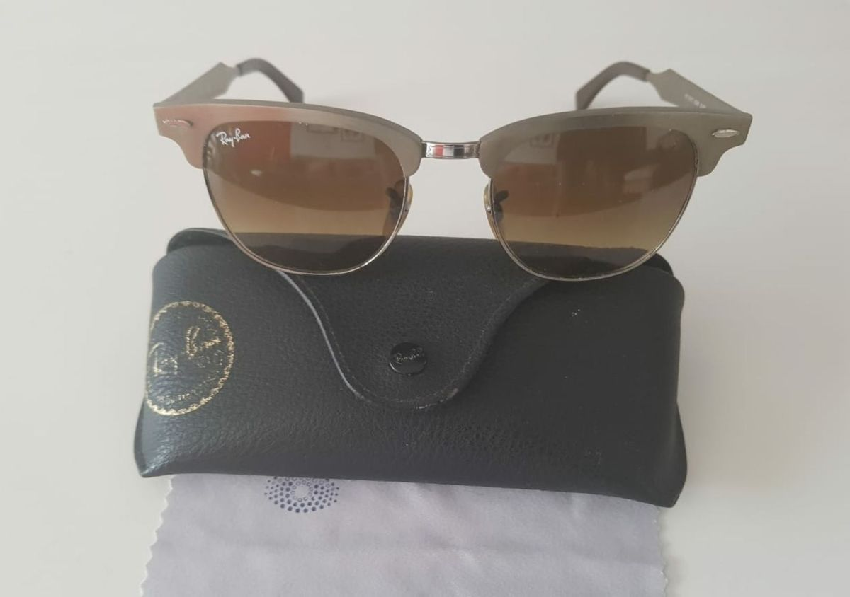 Óculos Ray Ban Original Modelo Rb 3507   Óculos Feminino Ray Ban ... 6bb9e1248c
