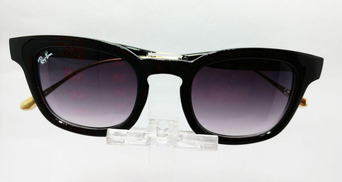 f6f505d6da829 óculos ray-ban preto degradê wayfarer lançamento - óculos ray-ban