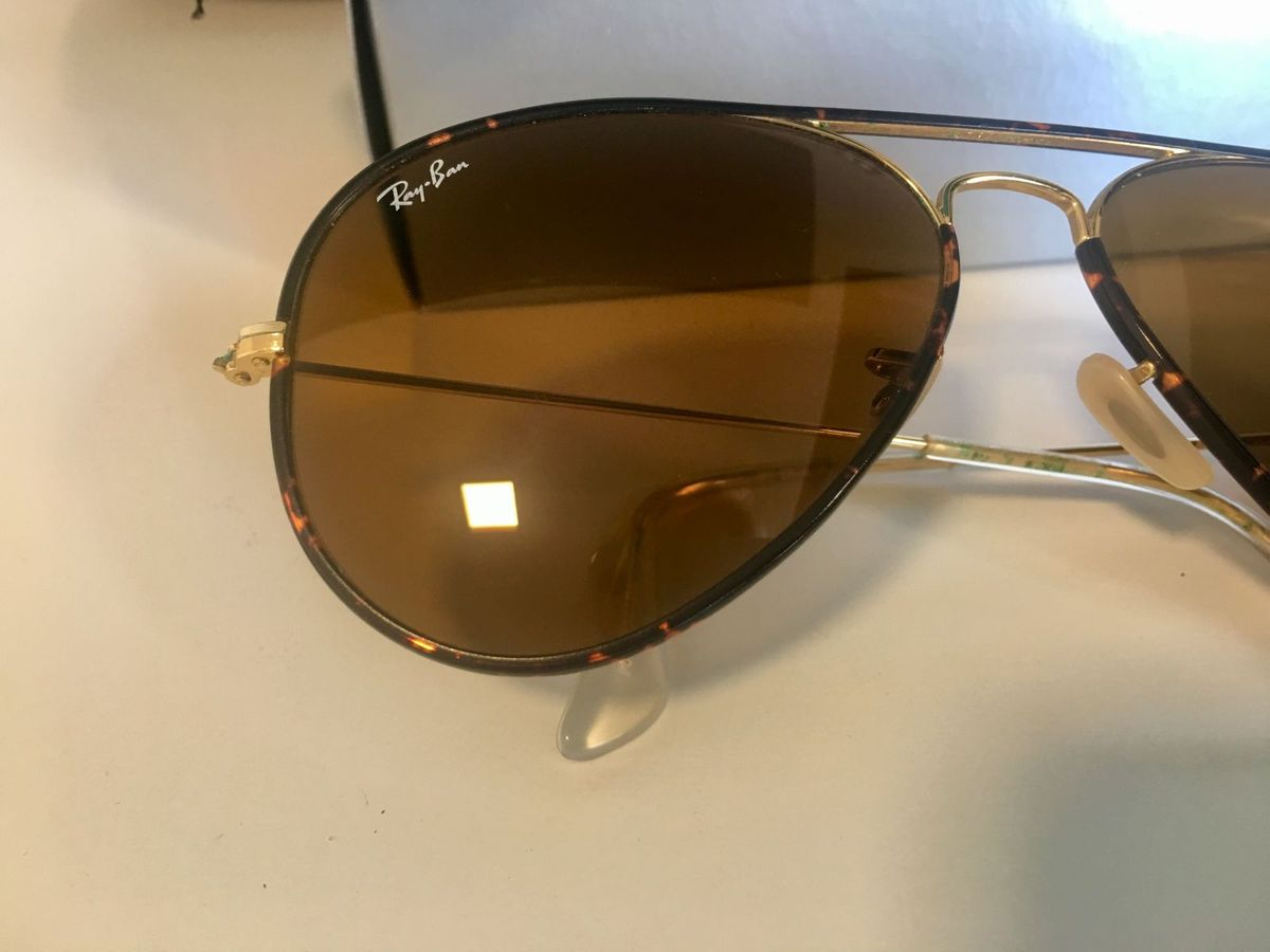 Óculos Ray Ban Rb3025 Jm Aviador Tartaruga - Original   Óculos Feminino Ray  Ban Usado 30361626   enjoei efc437824c