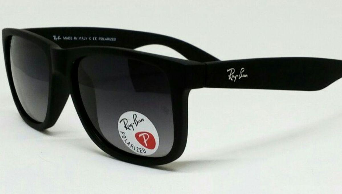 Óculos Ray Ban Rb4165 Justin Polarizado   Óculos Masculino Ray Ban ... 435f39c44c