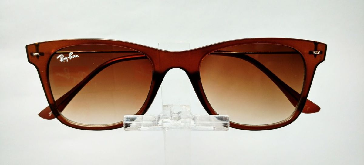 óculos ray ban wayfarer slim fosco unissex lançamento - óculos ray-ban 3233451ffd