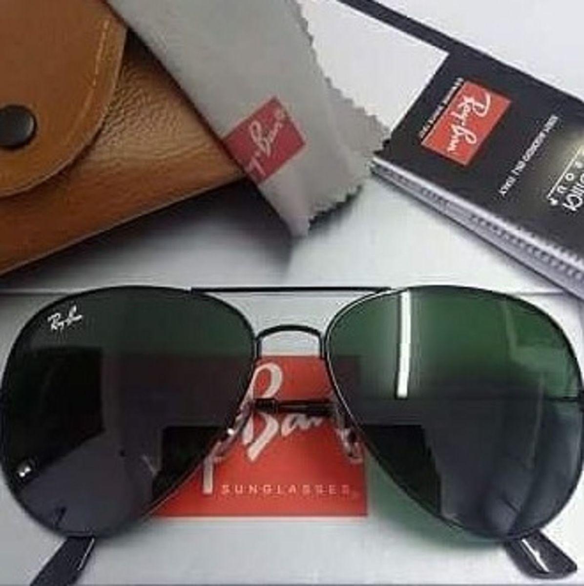 Oculos Rayban Aviador Preto   Óculos Feminino Ray Ban Nunca Usado ... df0b8f8028