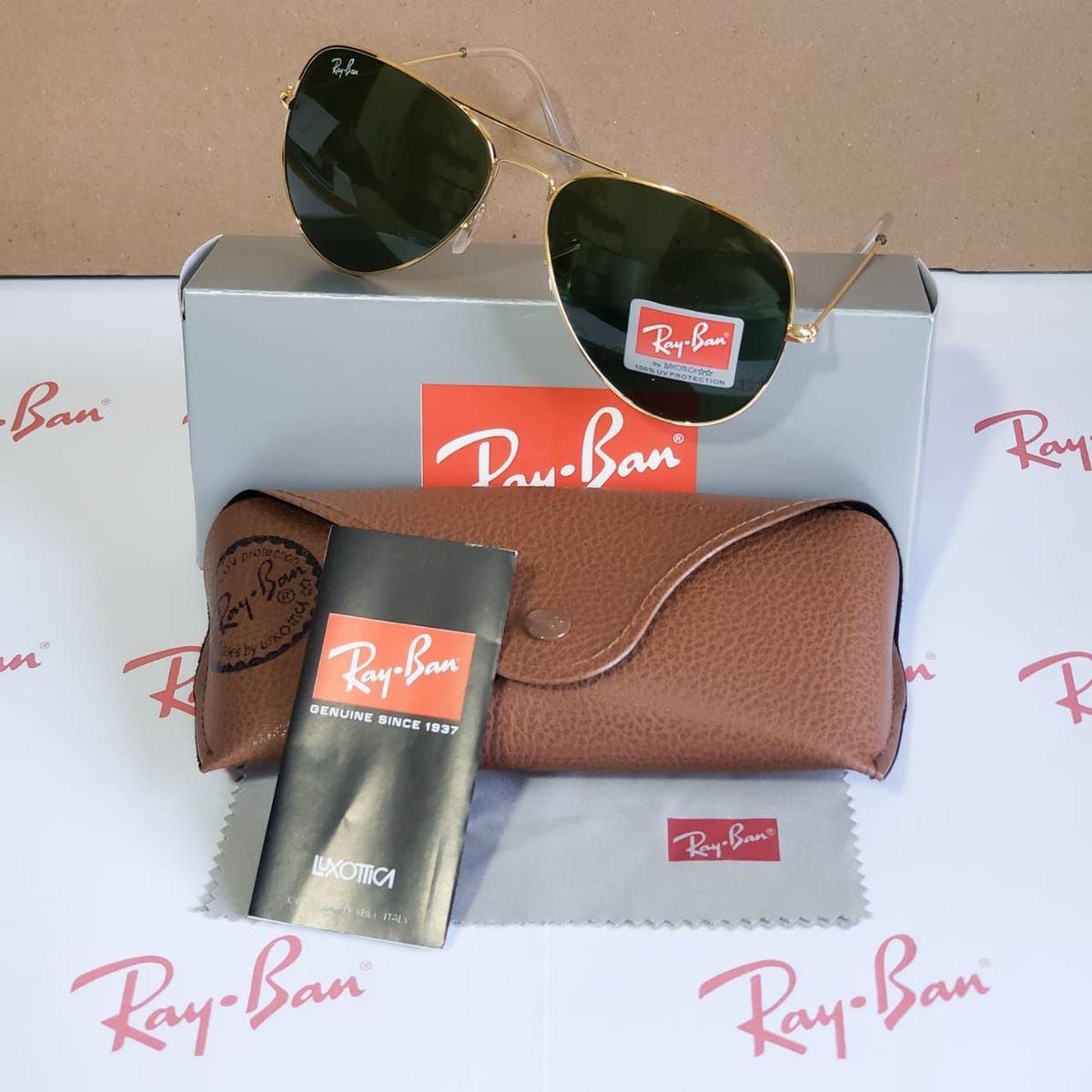6972a87b0 Óculos Rayban Aviador Promoção!!! | Óculos Feminino Ray Ban Nunca Usado  34275236 | enjoei