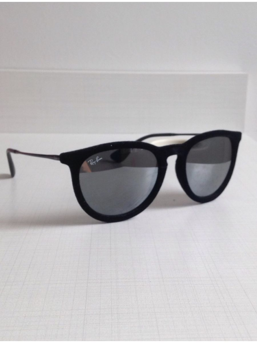Oculos Rayban de Veludo Espelhado   Óculos Feminino Ray Ban Usado ... cca505d677