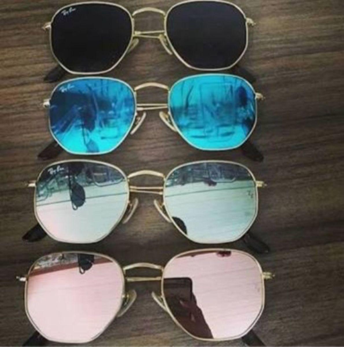 0d435a0790459 óculos rayban hexagonal promoção - óculos ray-ban