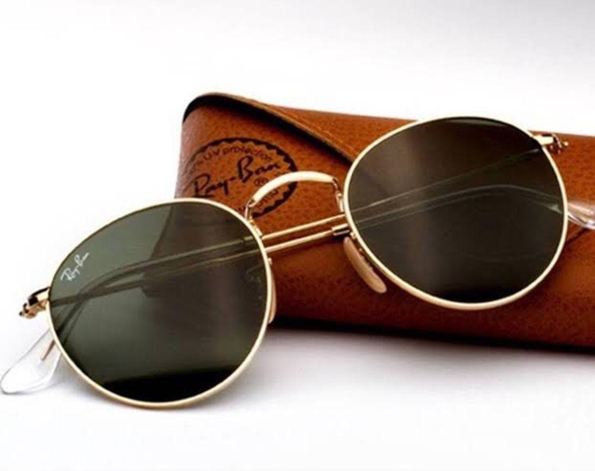 5eb4958238980 óculos rayban round metal promoção - óculos ray-ban