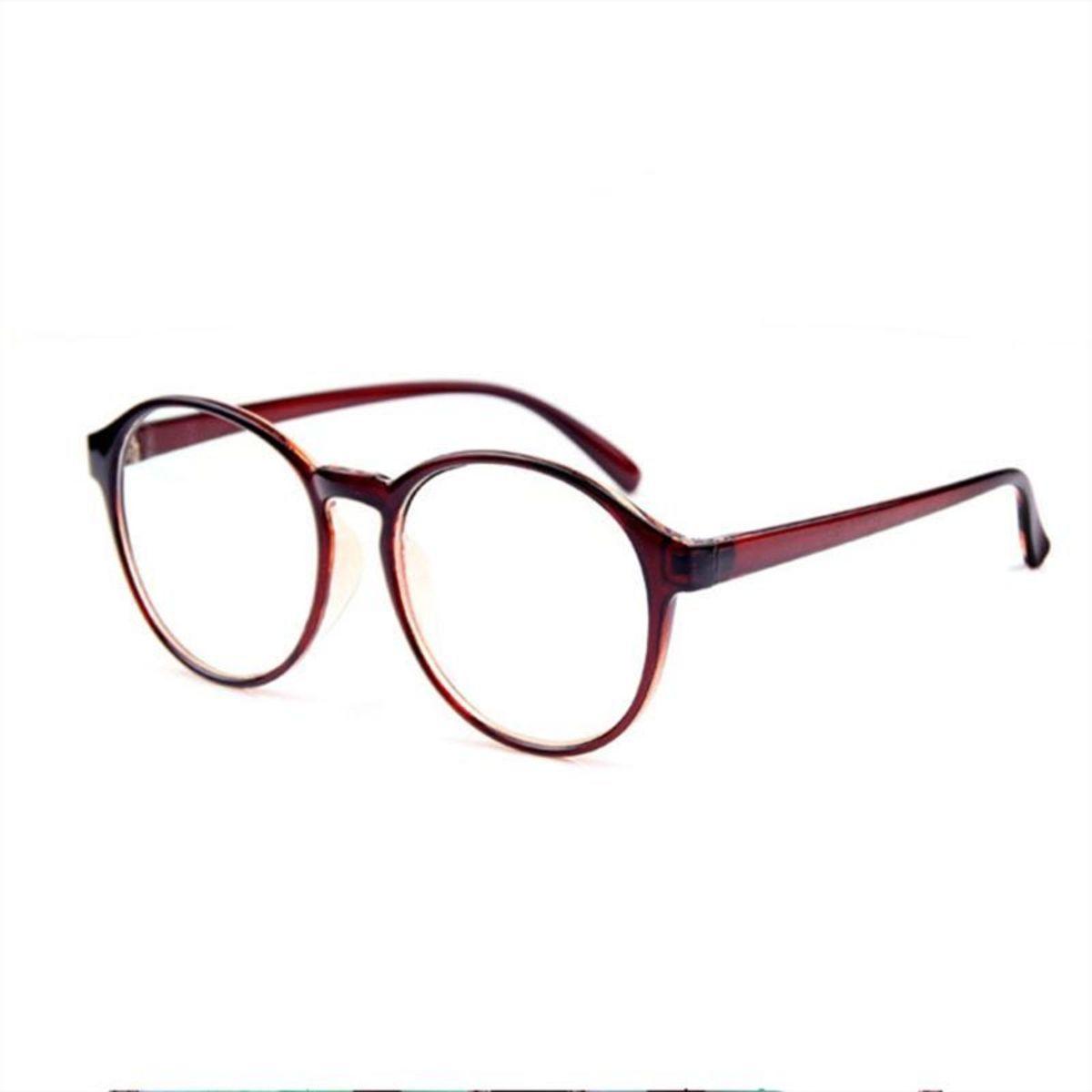 dc63bf9f75fc0 Óculos Redondo - Geek - Vintage - Armação - Unissex