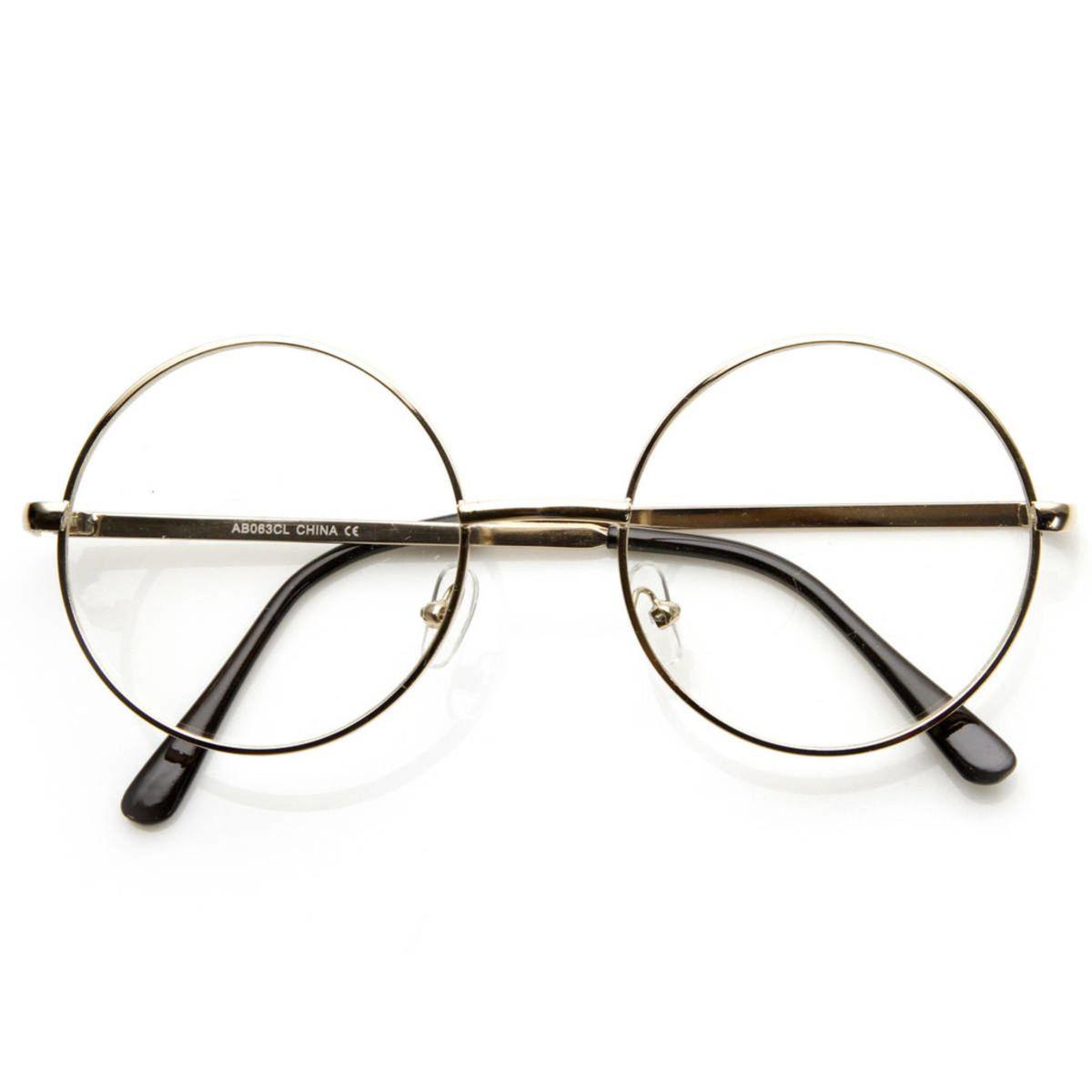 f5a927753a531 Óculos Redondo - Harry Potter - John Lennon