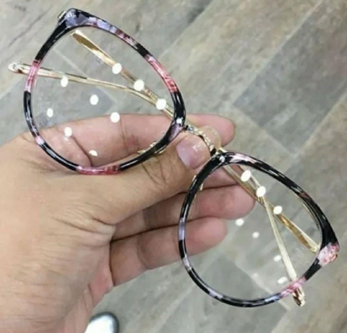 7b8c62cb5736f óculos redondo lente transparente sem grau - óculos sem marca