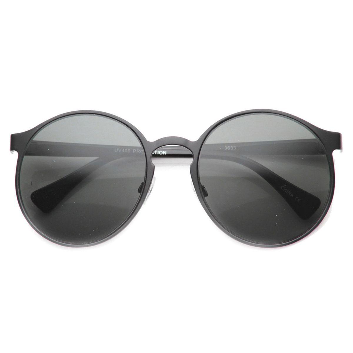 óculos redondo oversize metal - óculos sem marca.  Czm6ly9wag90b3muzw5qb2vplmnvbs5ici9wcm9kdwn0cy8zotuwnzuvmdjimzqzywnmntjhn2nhodu4ndkxyjjknzg4nwrhoweuanbn  ... ab4de79f74