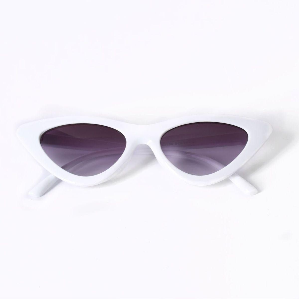 4e49db86666bf Óculos Retro Branco