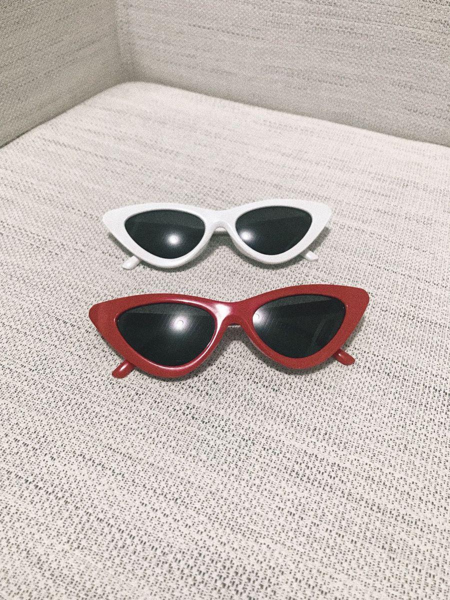 oculos gatinho vintage - óculos sem marca