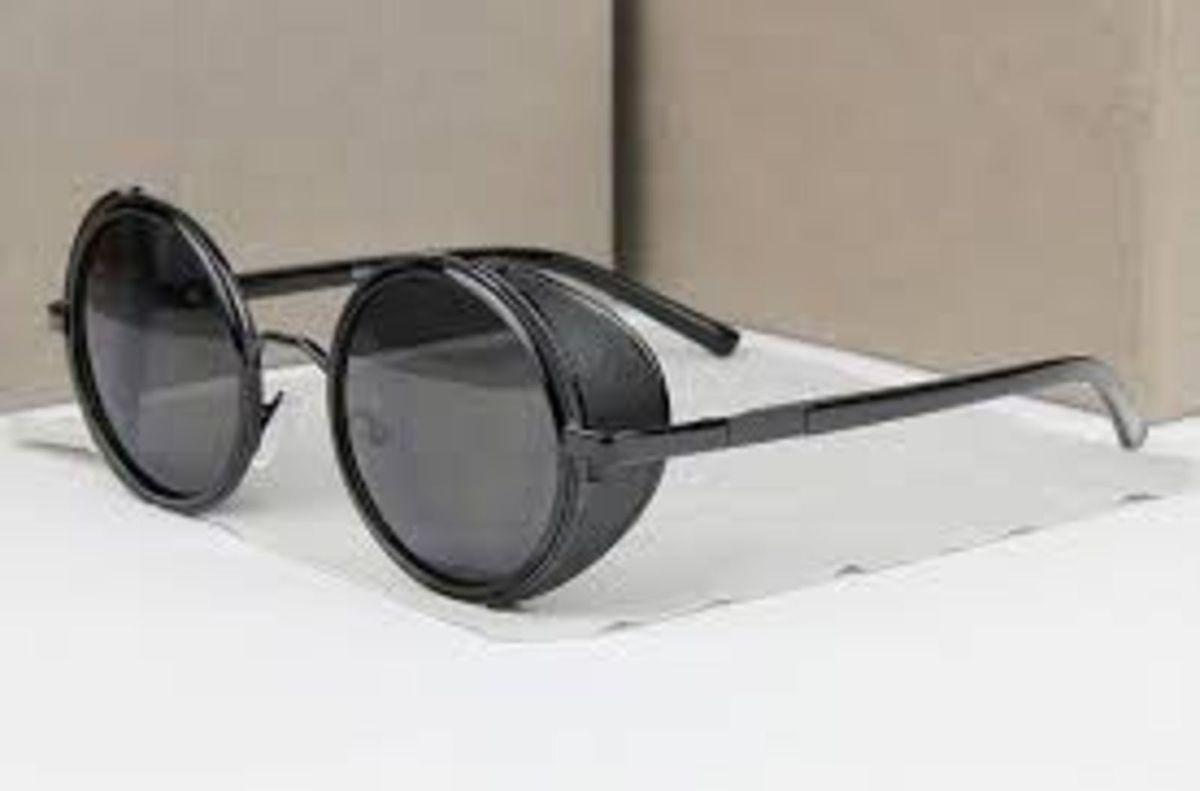61b5f1f6d38ba Oculos Sol Redondo Retro Vintage Lennon Ozzy Homem de Ferro   Óculos  Feminino Nunca Usado 19371238   enjoei