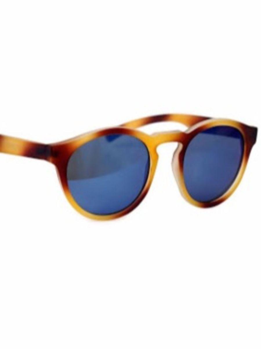 Óculos Tartaruga com Lente Espelhada Azul   Óculos Feminino Nunca ... a544d08579