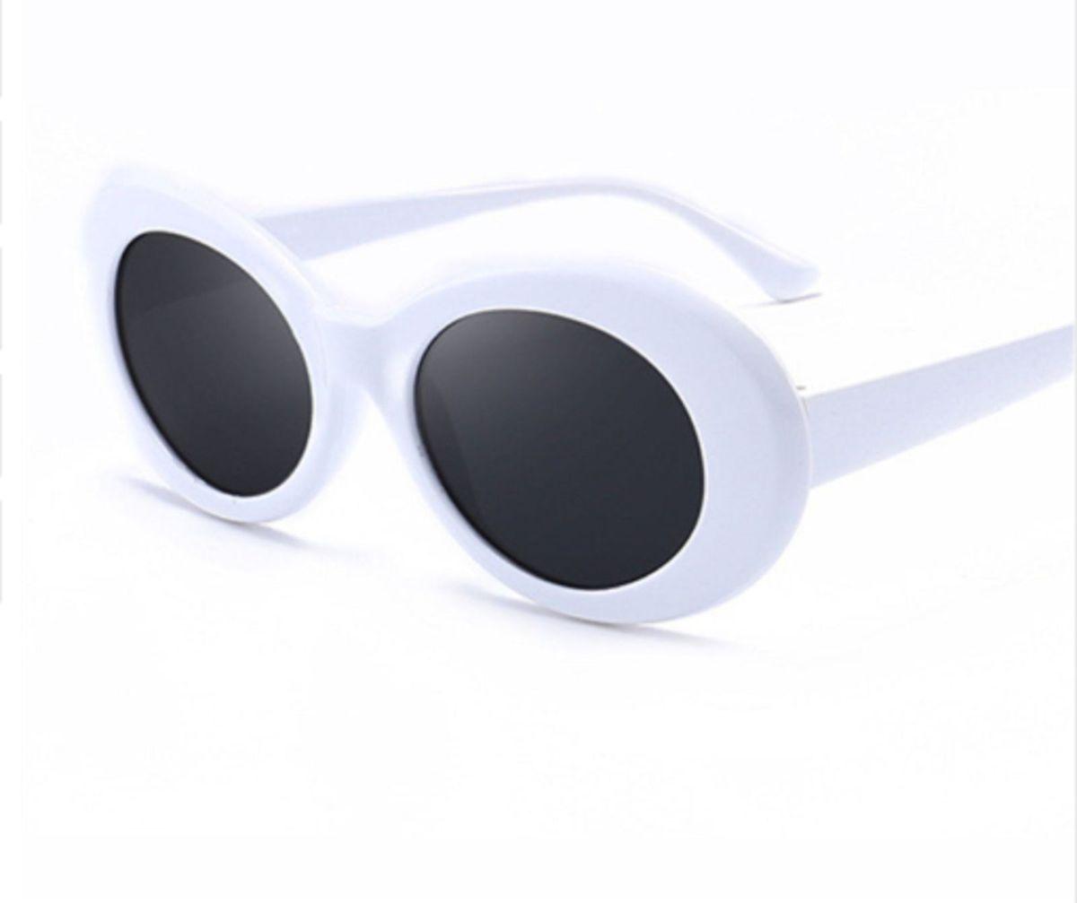 Oculos Tipo Kurt Cobain Branco Uv400   Óculos Masculino Uvlaik Nunca ... d5e00557d3