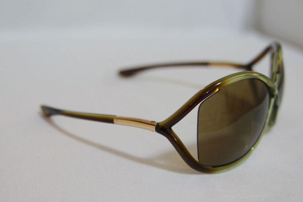 259751df229 Óculos Tom Ford Whitney Verde