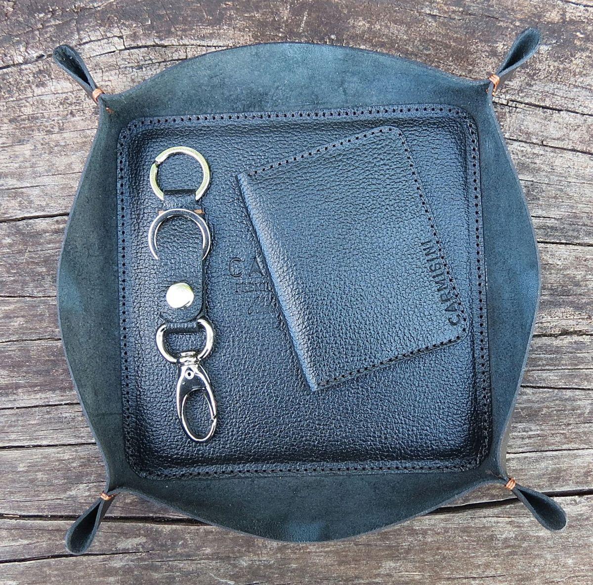 c1cc37bb9 organizador, carteira e chaveiro em couro carmisin - carteiras carmisini