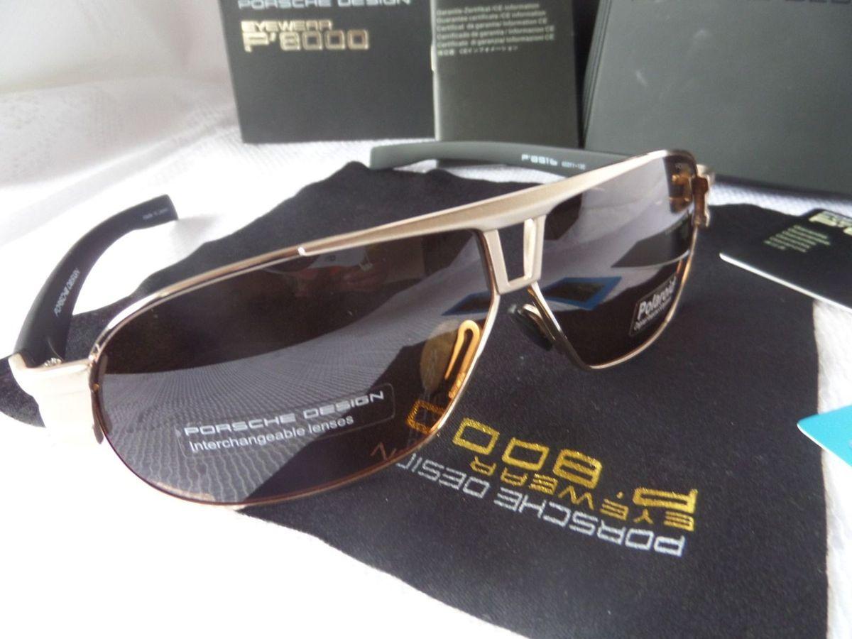 Óulos de Luxo Porsche Design P 8516 Dourado - Original e Exclusivo   Óculos  Masculino Porsche Design Nunca Usado 13804425   enjoei 5dd8cce4b9