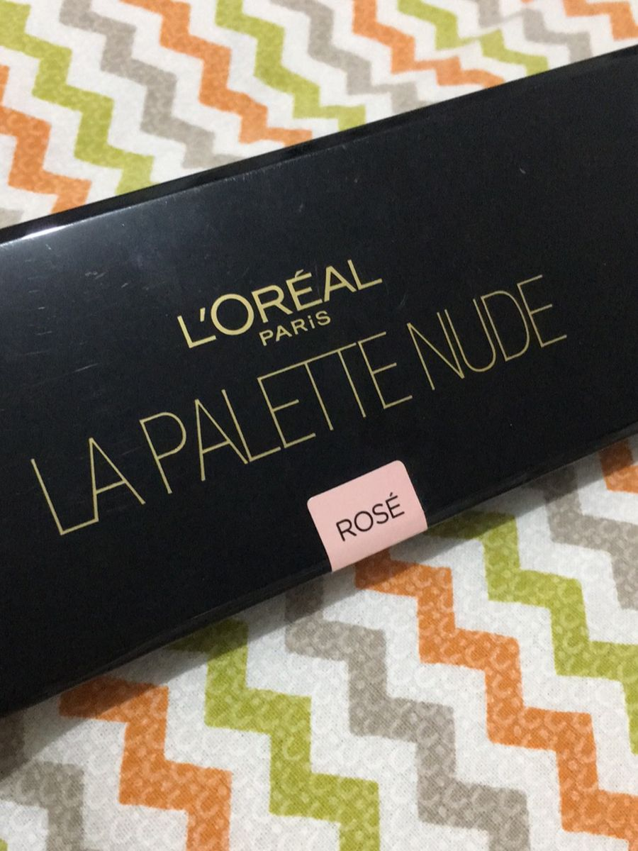 paleta de sombra loreal rosé - maquiagem loreal