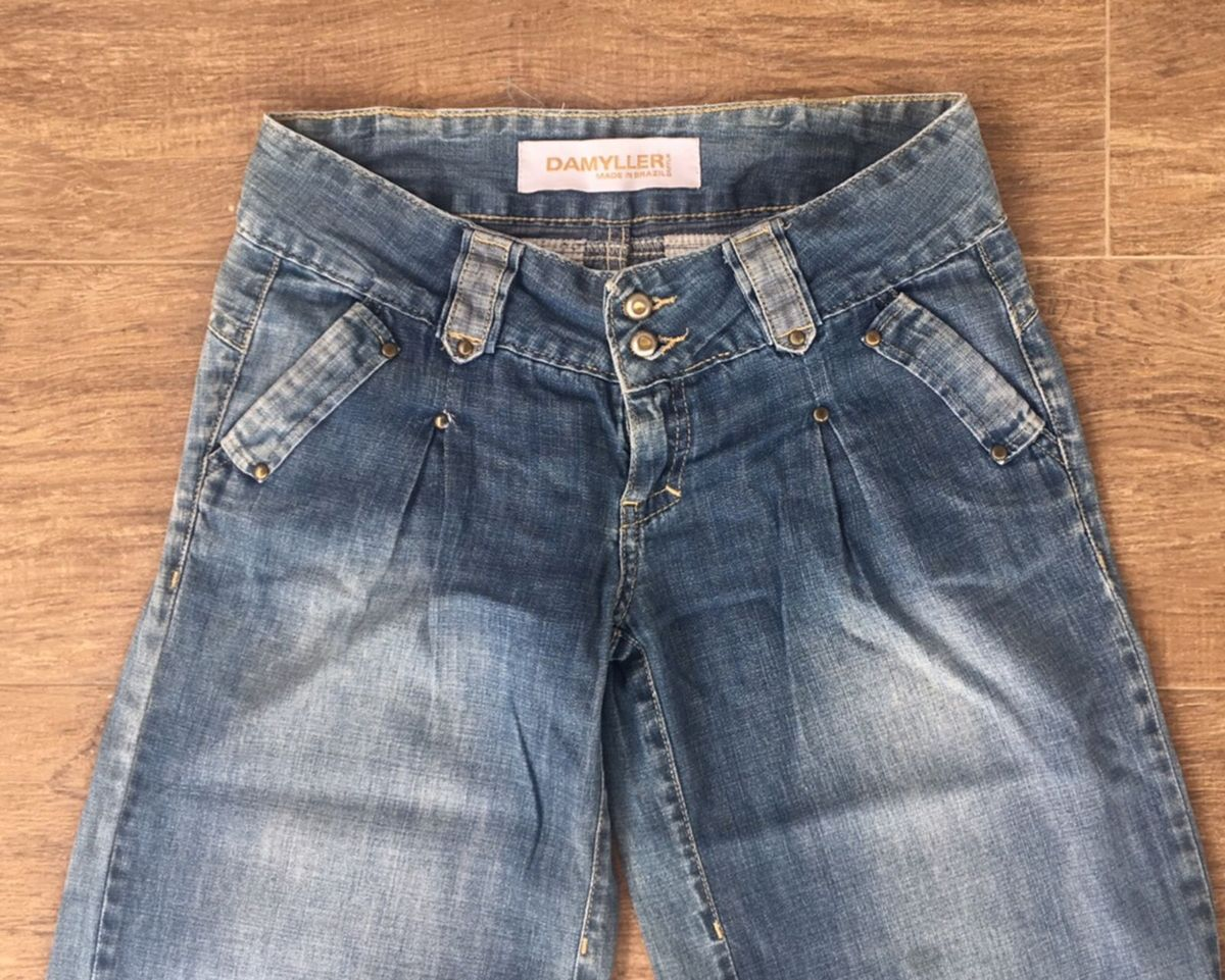 0ff4f46d0 pantalona jeans - calças damyller.  Czm6ly9wag90b3muzw5qb2vplmnvbs5ici9wcm9kdwn0cy80mjy4otuvmge3otu2ytc1owe3zdaynzuwmzllzjq0ndkymmm4zgiuanbn
