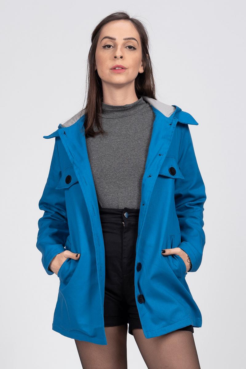 parka sarja - azul - casaquinhos stampo