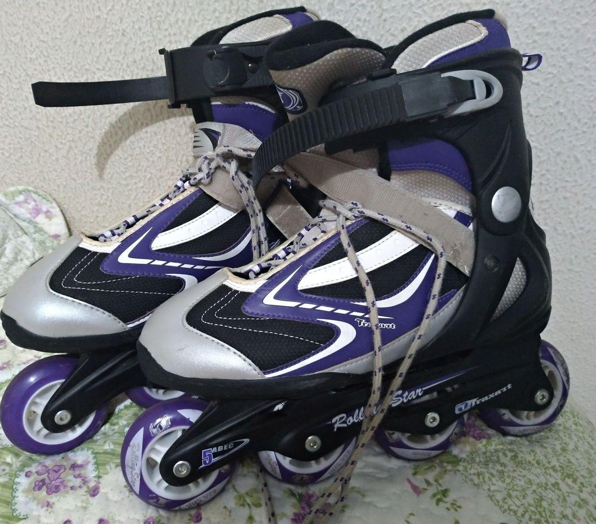 c06634ec2d133 patins traxart rolling star - esportes e outdoor traxart