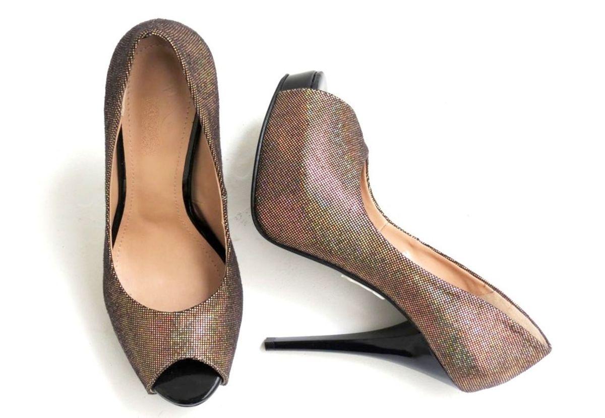 peep toe aberto - sapatos griffteria