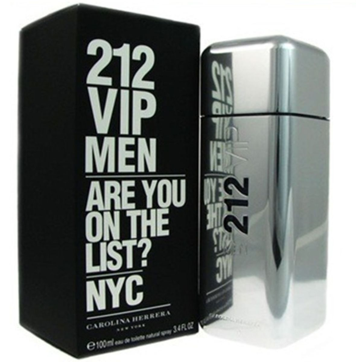 79ffcee8de perfume 212 vip men 100ml - original - perfumes carolina herrera