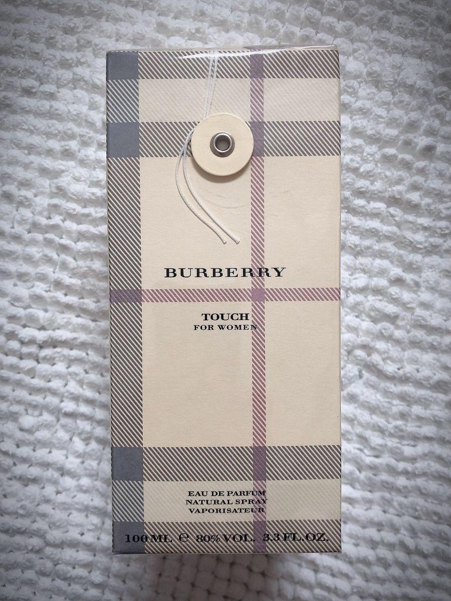 perfume burberry touch feminino - perfume burberry