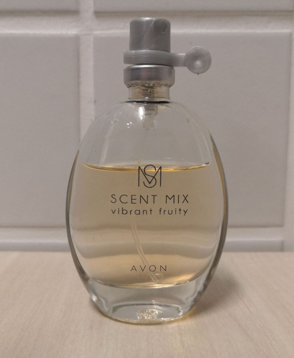 Perfume Scent Mix Perfume Feminino Avon Usado 43363490 Enjoei