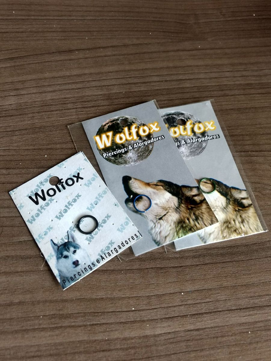 piercing para o nariz - argolas - bijoux wolf