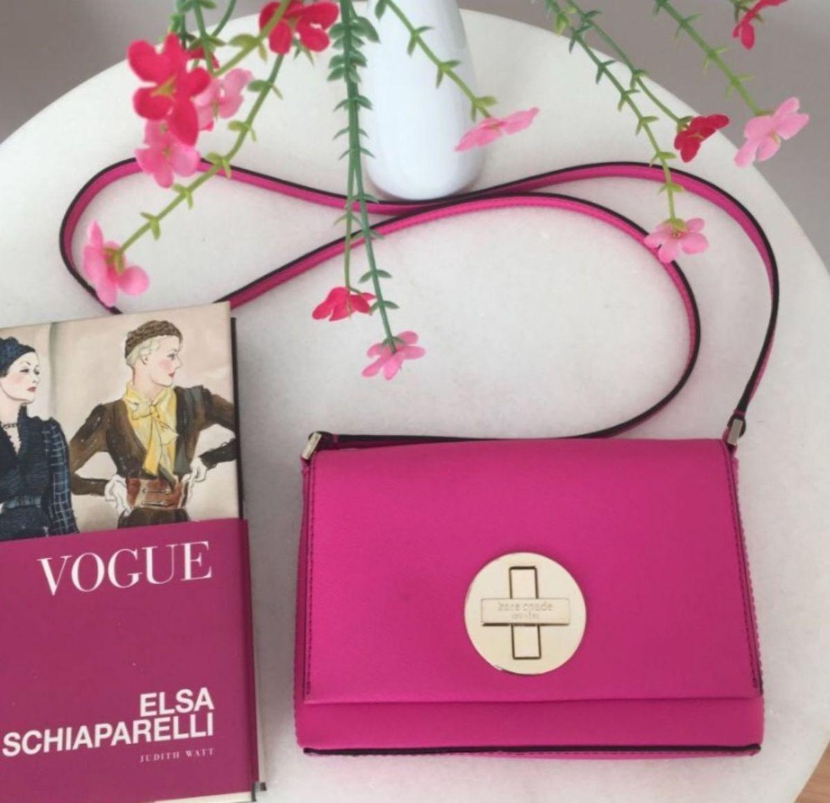 pink spade- linda bolsa kate spade rosa e dourada nova - bolsas kate-spade 4a689bf4181d