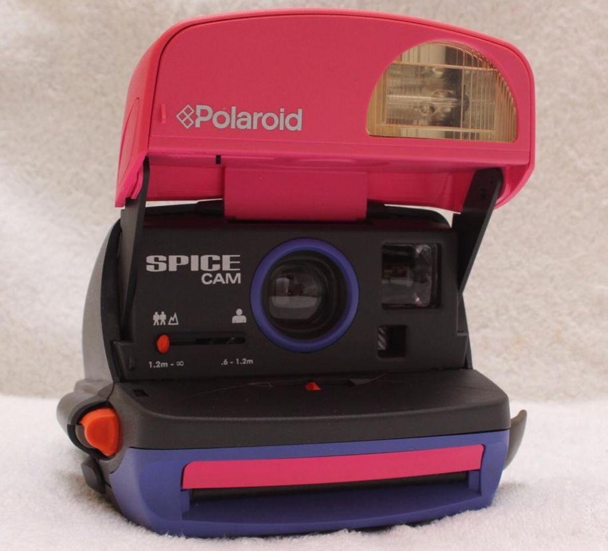 polaroid spice cam 600 - vintage e retrô polaroid