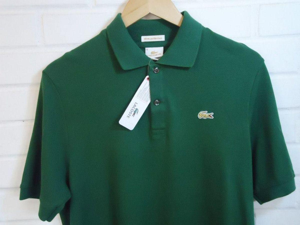 Polo Lacoste Série Gold - Tamanho 5   Camisa Masculina Lacoste Nunca ... 52a224bffe