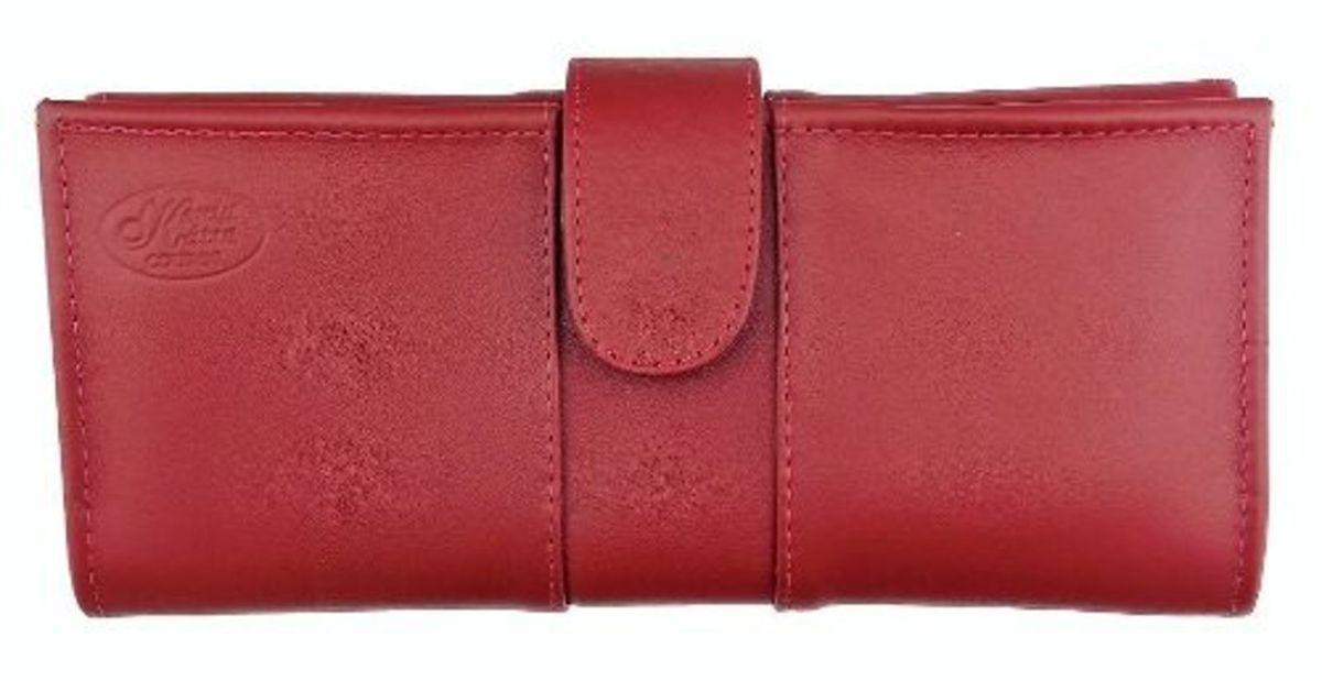 a3be62ebfe porta-cheque feminino de couro legítimo vermelho - carteiras 018  porta-cheque