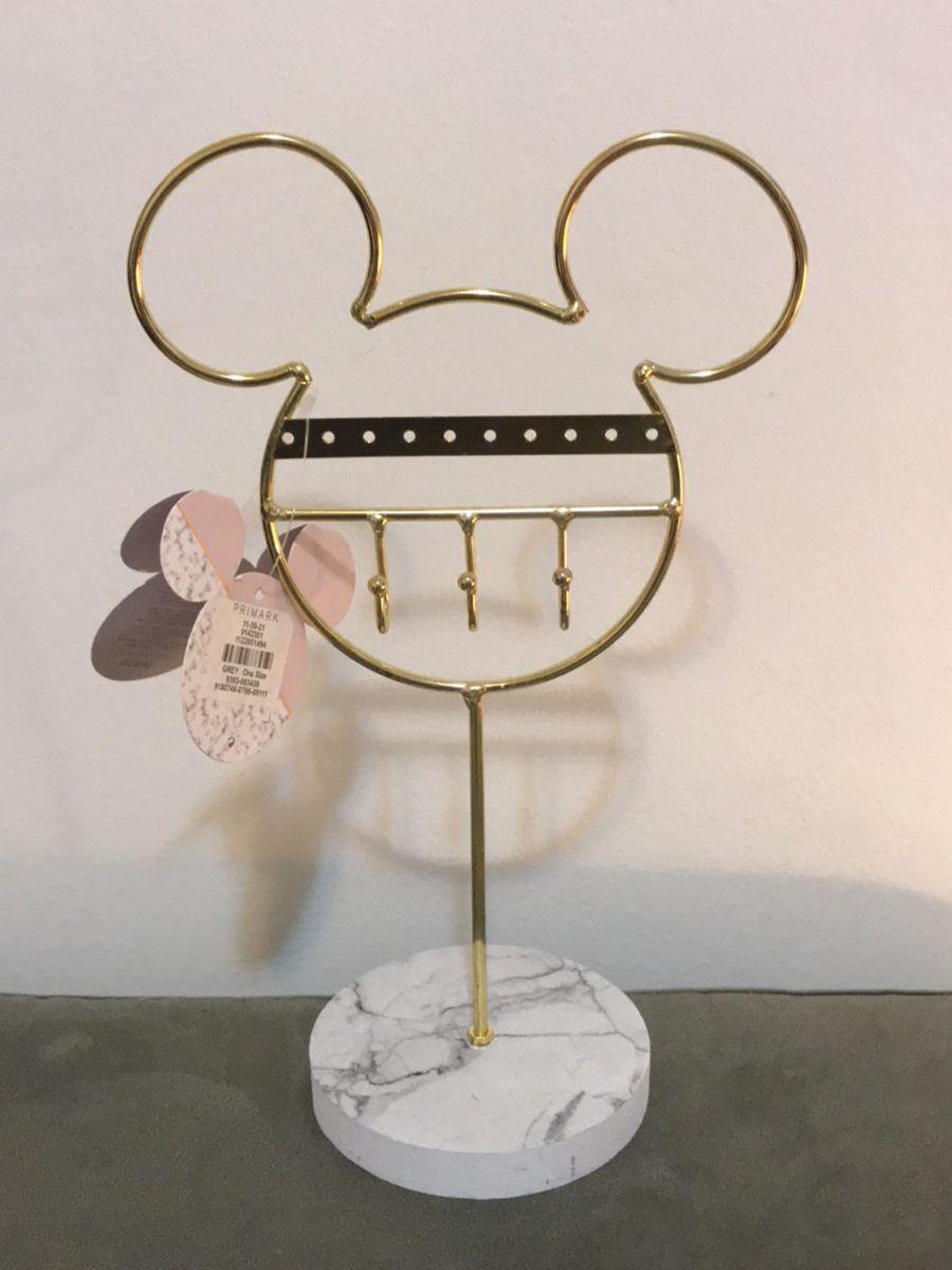 porta joias mickey - jóias disney