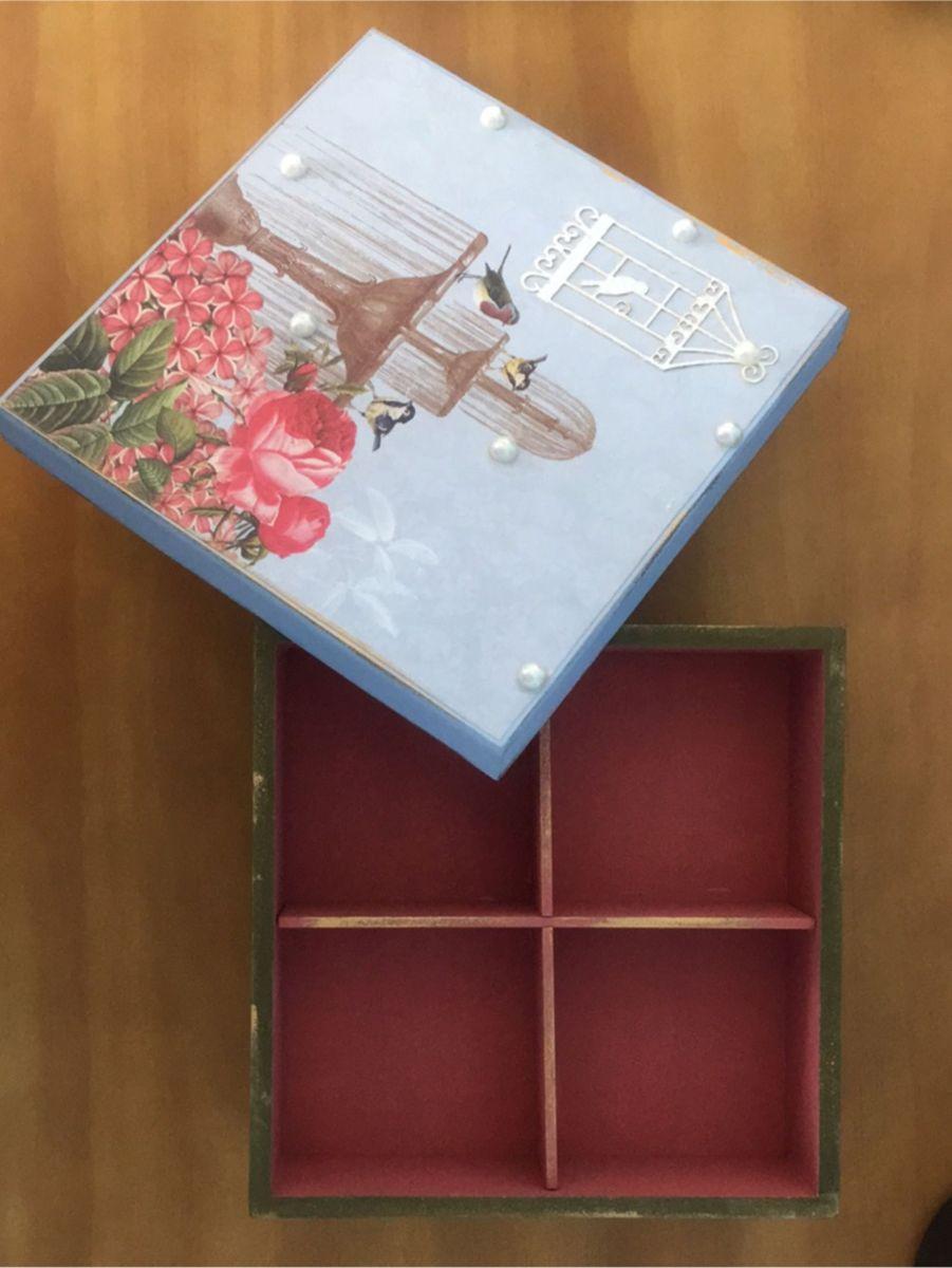 porta joias/ trecos passarinho - decoração sem marca