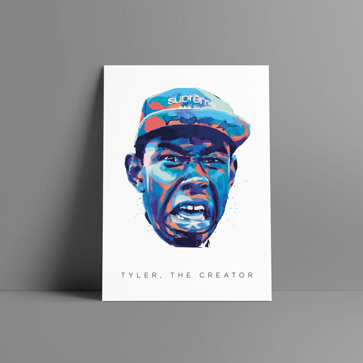 poster tyler, the creator - decoração sem marca