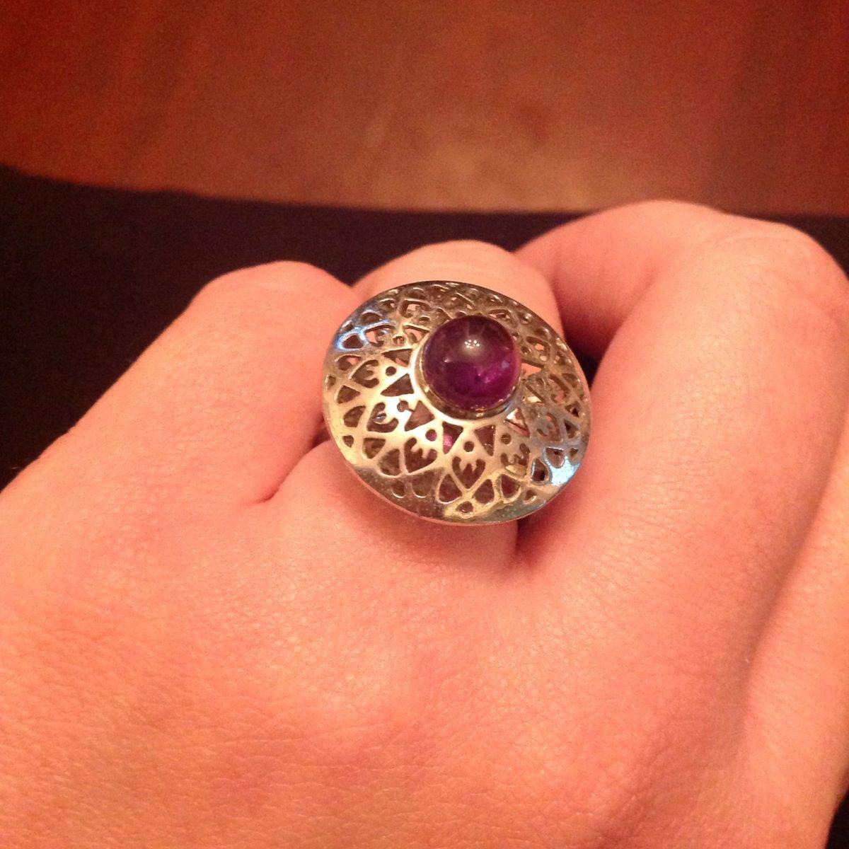 prata e ametista - jóias la spiniella