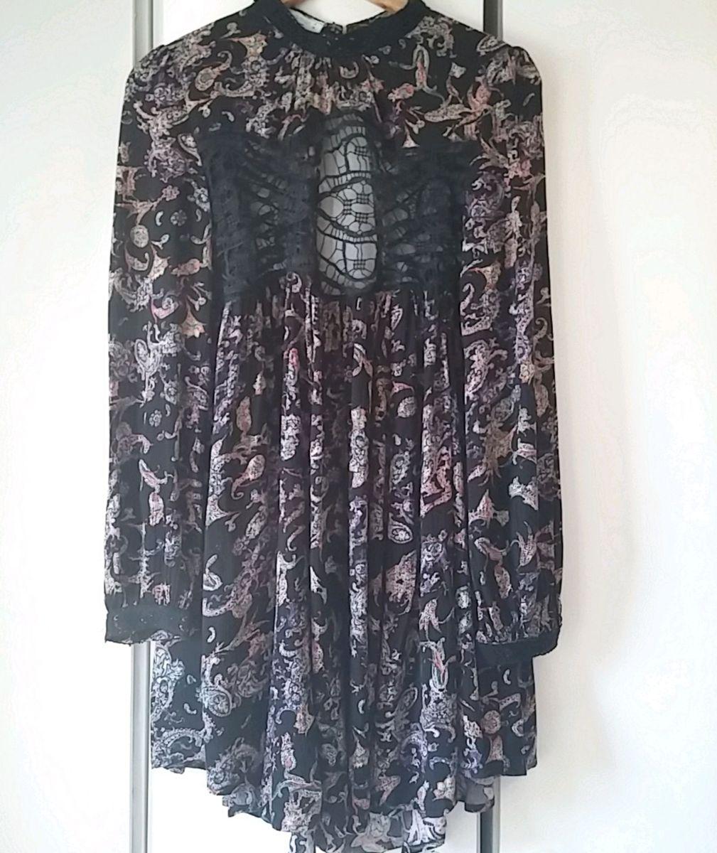 vestido preto com detalhes - vestidos aquamar