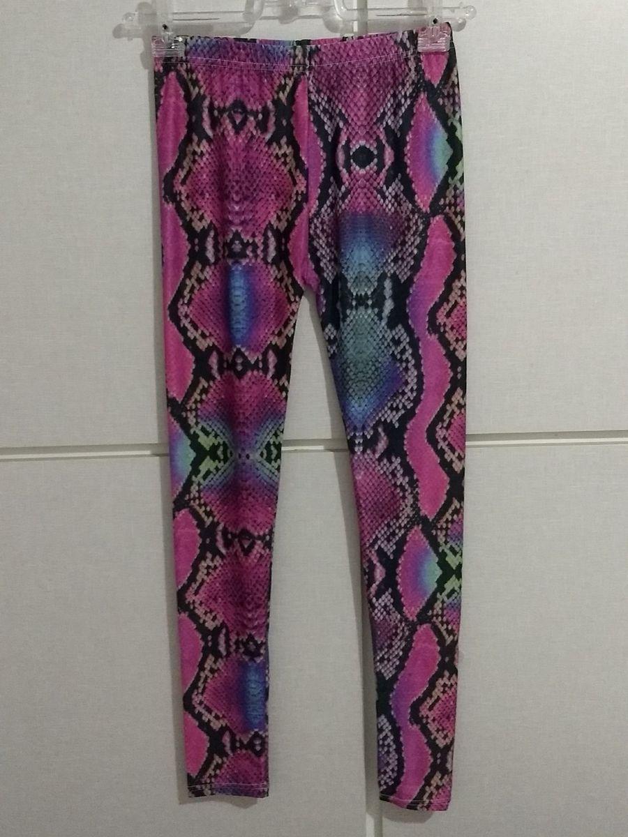 8c6aa5134 produto novo - legging animal print avon - calças avon