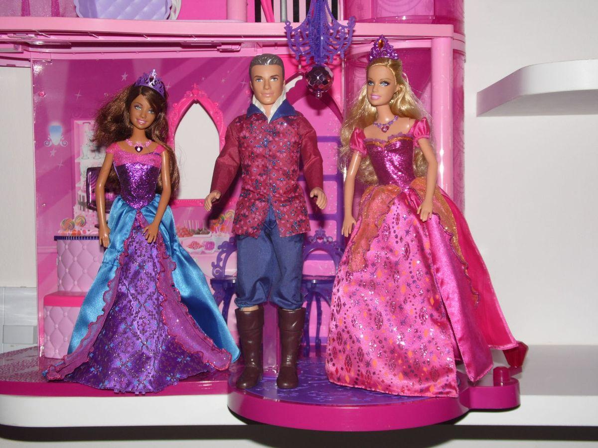 b0b61cadd2 promoção barbie princesa castelo de diamante - crescidinhos mattel